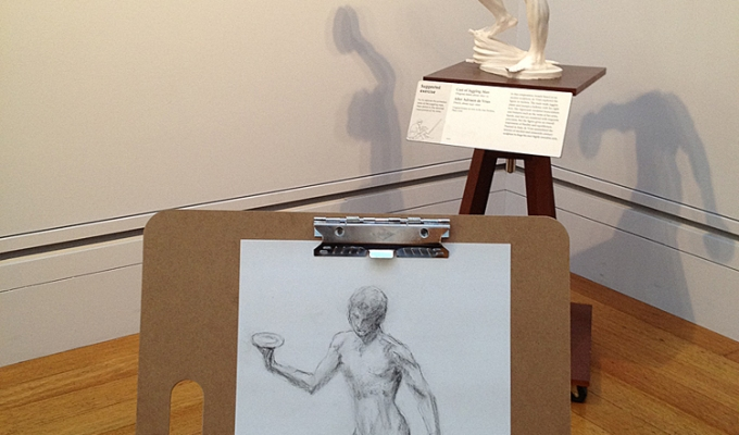 Sketching at the GettyCenter