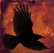 """Let Your Wings Carry You - 12""""x12"""" (Sold)"""