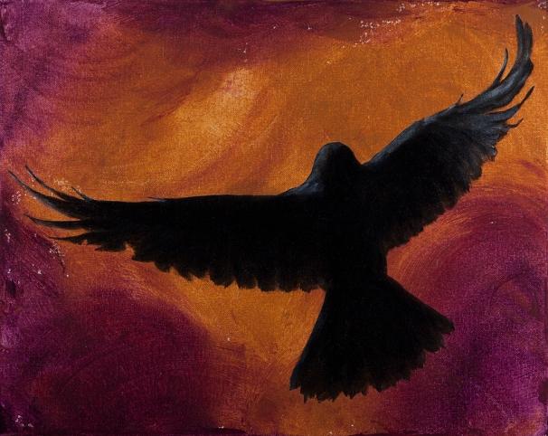 "Spirit Bird - 16""x20"""