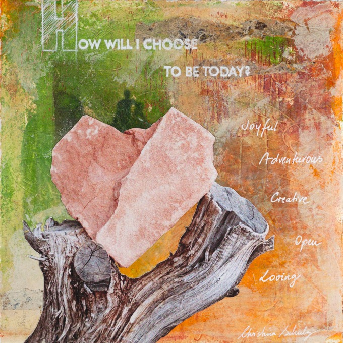 "Daily Painting #5: ""How will I be?""  