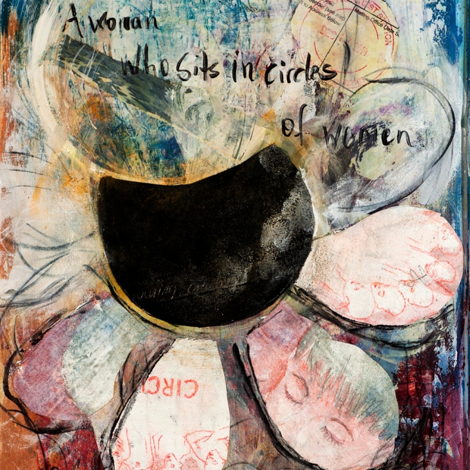Daily Painting #15: Circle of Women  |  8x8"