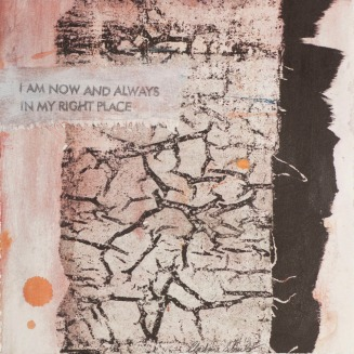Christina Schulz, Artist, Mixed Media Painting: Right Place