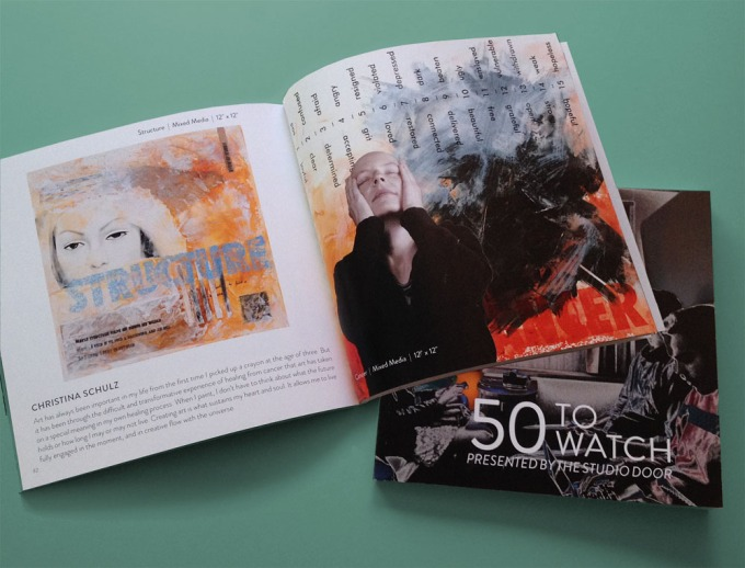 50 To Watch Book, Published by The Studio Door
