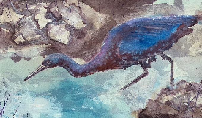 Mystical Heron