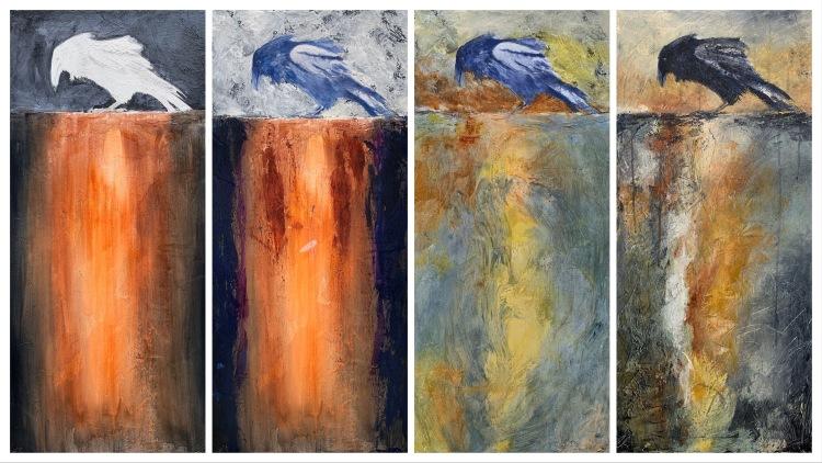 Raven-Painting-Progress