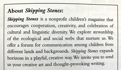 About Skipping Stones